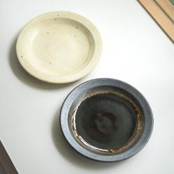 リム皿(7寸) / 河内 啓さん(岐阜県土岐市)