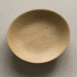 生木のうつわ(コナラ) 小皿その1/木もの NAKAYA 中矢嘉貴さん