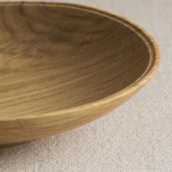 生木のうつわ(コナラ) 小皿その2/木もの NAKAYA 中矢嘉貴さん