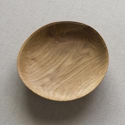 生木のうつわ(コナラ) 小皿その4/木もの NAKAYA 中矢嘉貴さん