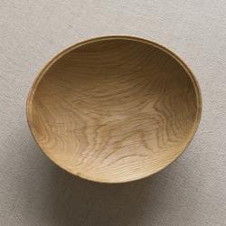 生木のうつわ(コナラ) 小皿その7/木もの NAKAYA 中矢嘉貴さん
