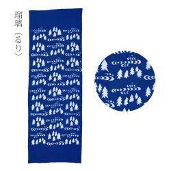 型染めの手ぬぐい あざみ> /作り手 山内武志さん(山内染色工房/アトリエぬいや)