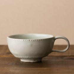 スープカップ 〜つくり手 岡村宜治さん〜(岐阜県土岐市)