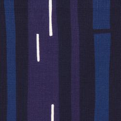 型染めの風呂敷<宵の竹(紺/紫)/90サイズ>/作り手 山内武志さん(山内染色工房/アトリエぬいや 静岡県・浜松)