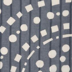型染めの風呂敷<あられ輪(銀鼠)/110サイズ>/作り手 山内武志さん(山内染色工房/アトリエぬいや 静岡県・浜松)